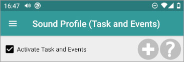 Tasks and Events (Location Tasks)